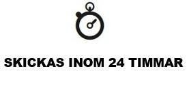 Skickas inom 24 tim